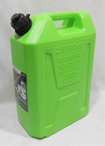 מיכל ג'ריקן  סולר  בנזין או מים 2 פעימות  צבע ירוק  תיקני  20  ליטר מפסק אוטומטי כולל זרבובית  מילוי