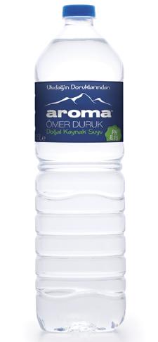 מים ארומה מינרלים טבעיים 1.50 ליטר  שישיה