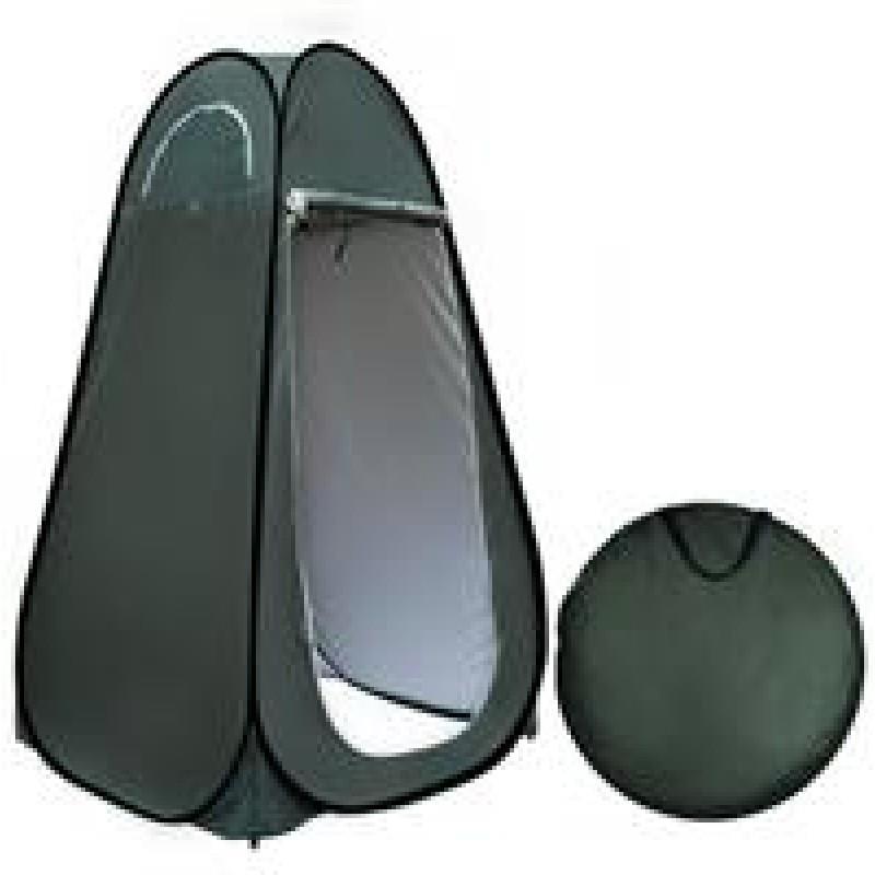אוהל תא הלבשה לשטח או קרוואן מנגנון פתיחה פופ-אפ מהיר מתאים לתצוגות אופנה שטח או תא שירותים