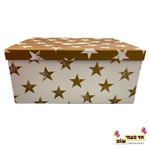 קופסא כוכבים זהב מידה 9