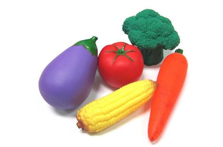סט ירקות מגומי איכותי
