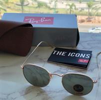 משקפי רייבן - ray ban - כסוף זהב