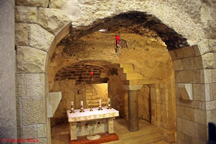 Support Israel and get this picture: Greek Orthodox Church of the Annunciation