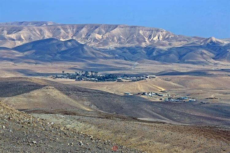 Support Israel and get this picture: Kfar Hanokdim, Judean Desert
