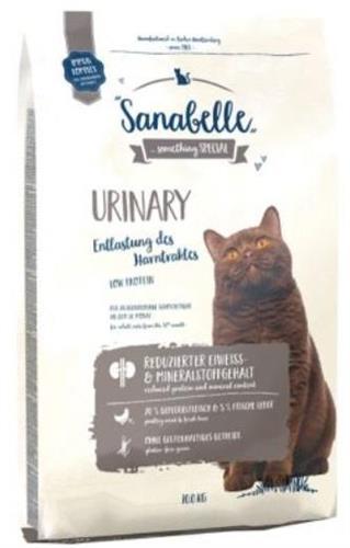 סנבל יורינרי מזון לחתולים הסובלים מבעיות בדרכי השתן 10 ק''ג - Sanabelle Urinary