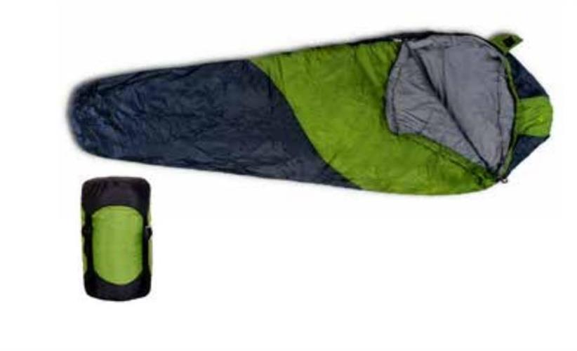 שק שינה חגור מיקרו פרו צבע ירוק  שק''ש 910019 טווח טמפרטורה עד + 5 מעלות