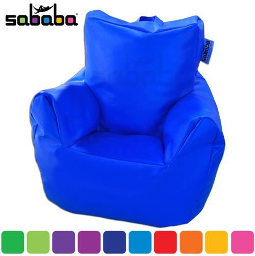 סבבה פוף כורסא גדולה דמוי עור