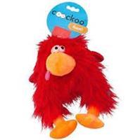 בובת ציפור קוקו שיער ארוך -אדום