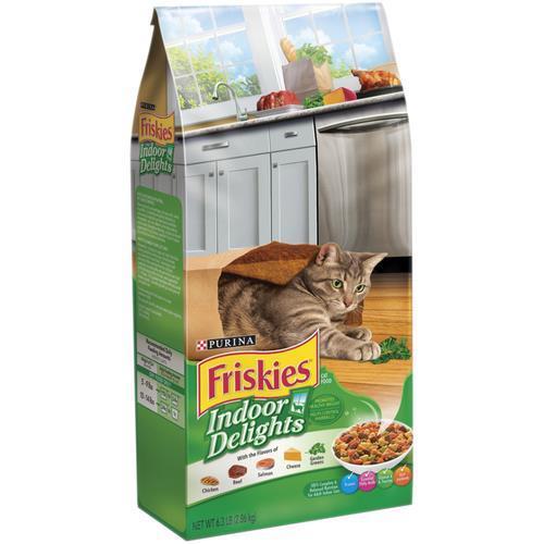 """פריסקיז חתול מעדני הבית ( ירוק ) 7.26 ק""""ג"""