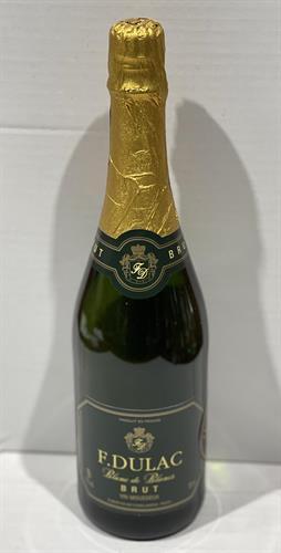 """שמפניה צרפתית 750 מ""""ל F.DULAC - BRUT"""