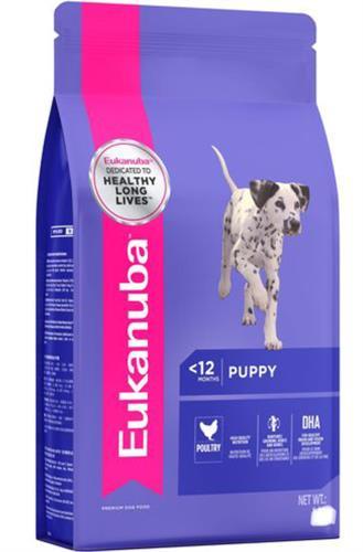 """יוקנובה 3 ק""""ג מזון יבש לכלבים גורים מגזע בינוני (פאפי מדיום)"""