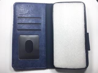 מגן ספר לסמסונג SAMSUNG J7 2016 בצבע כחול