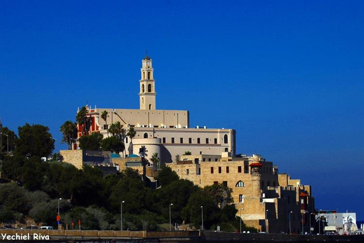 Support Israel and get this picture: St. Peter's Church, Jaffa