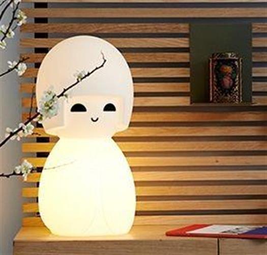 מנורת לילה קוקאשי בובה יפנית