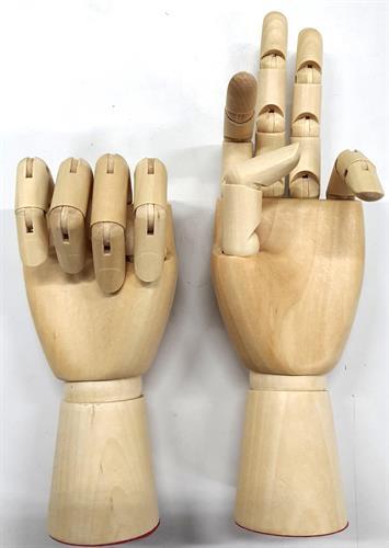 כפות ידיים זוג