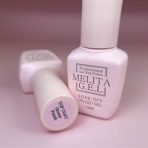 MELITA Top Coat Glossy Finish (טופ מבריק ללא נטרול)