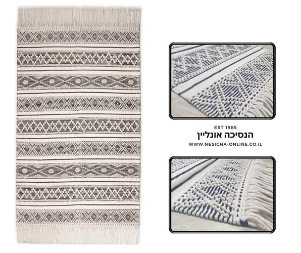 שטיח מרקש   הודי - אפור  02