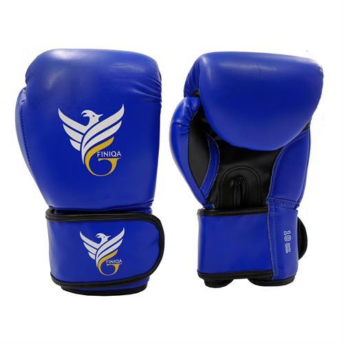 כפפות אגרוף FINIQA BOXER 10OZ צבע כחול