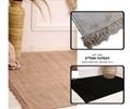 שטיח חלק +פרנזים