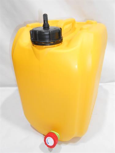 מיכל  עם ברז ונשם צהוב 18 ליטר