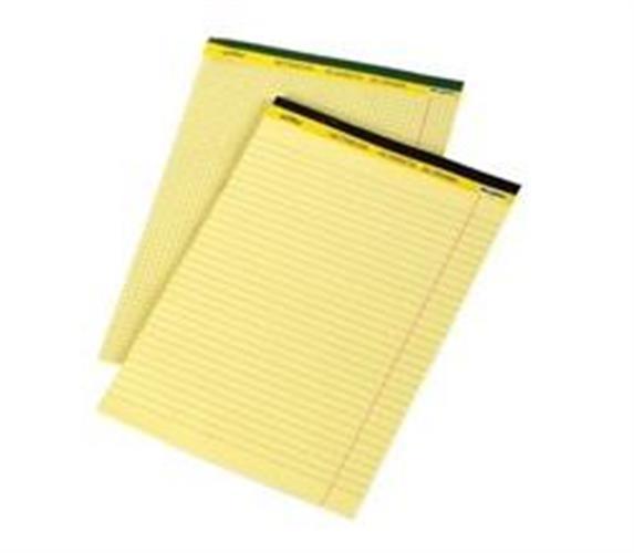 בלוק כתיבה צהוב A4