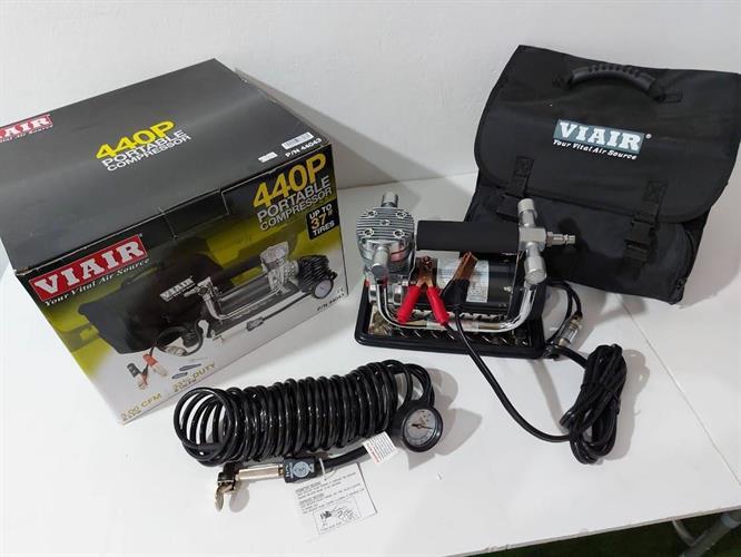 קומפרסור VIAIR 300P AUTOMATIC PORTABLE COMPRESSOR מדחס אוויר לאופניים אופנועים ורכב