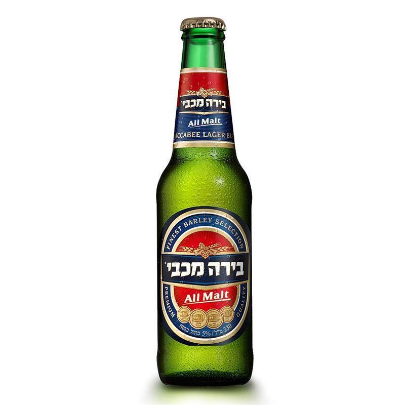 """ארגז בירה מכבי 330  ח""""פ   24/1"""