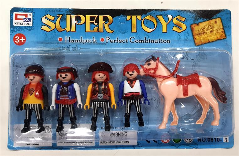 סט בובות מיניטוריות