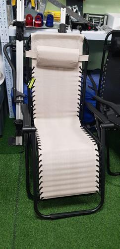 כיסא ימבה מצבים מתקפל שחור ( צבע קרם) (צבע קרם נגמר שחור זמין כעת)