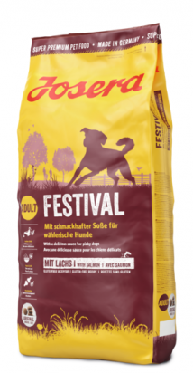 """4032254212607 מזון יבש לכלבים מבוסס סלמון 15 ק""""ג Josera"""