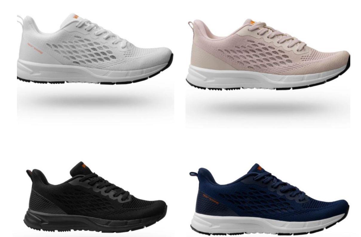 נעלי WOCK דגם Breelite במגוון של 4 צבעים שונים