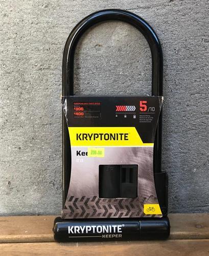 קריפטונייט מנעול לאופניים Kryptonite - Original Keeper® STD 5/10