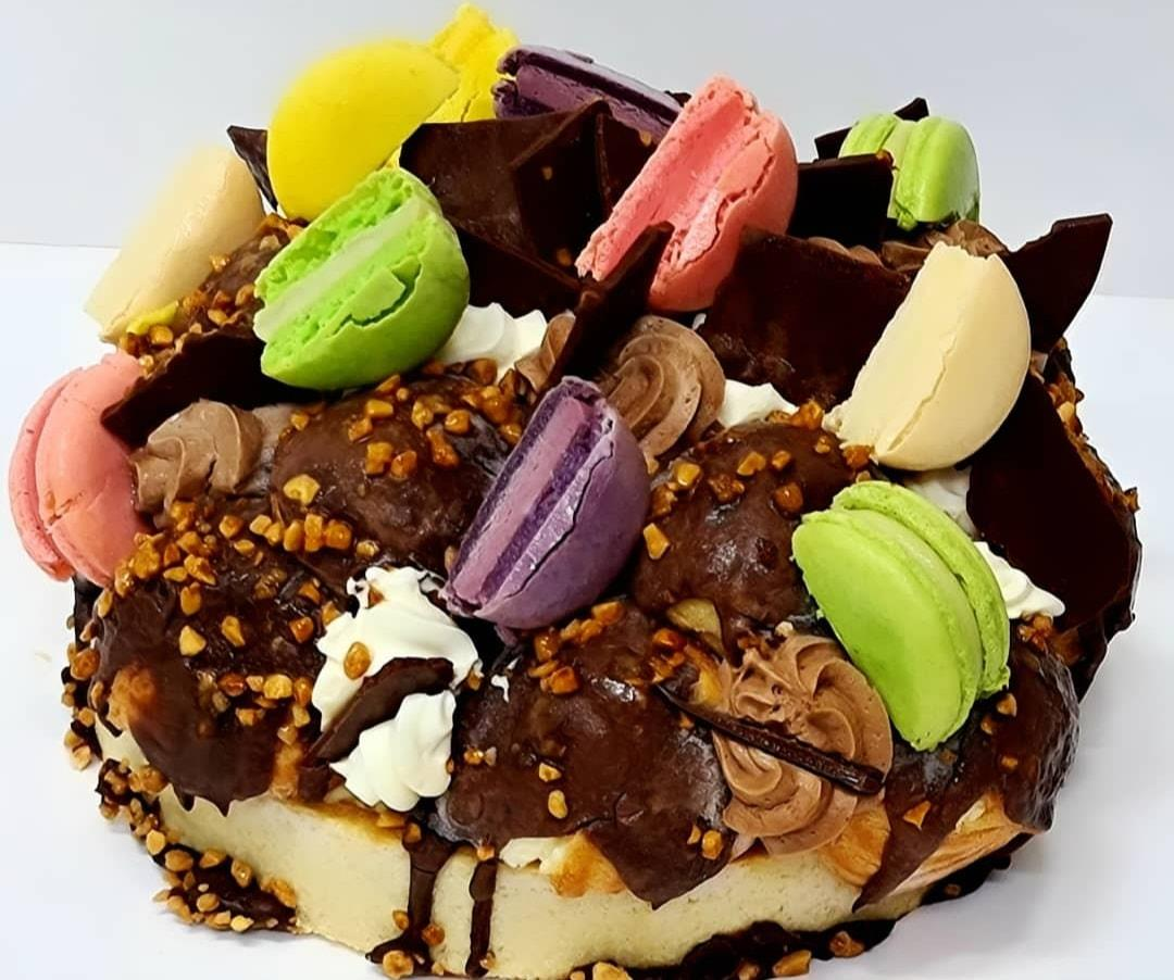 Dream pie cake - עוגת פאי חלומי