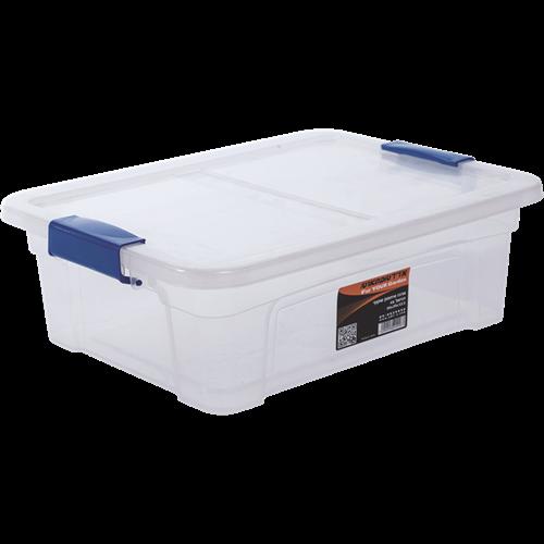 קופסת אחסון עם סגרים - דגם דניאל 15 ליטר