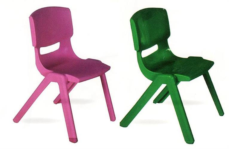 כיסאות פלסטיק יצוק בגבהים שונים