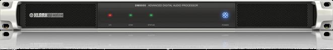 """מיקסר דיגיטלי KLARK TEKNIK DM8000 מעבד אודיו ומטריקס עם שליטה ע""""י בקר בפרוטוקול RS-232 ורשת AMX"""