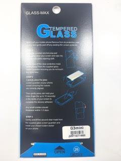 מדבקת זכוכית ל LG G3 MINI