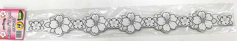 כתרים פרחים לצביעה