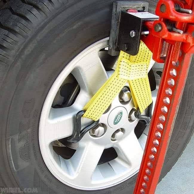 מרים גלגל עבור ג'ק חקלאי מגבה מכאני היליפט LIFT MATE MODEL 4WD-A-007B
