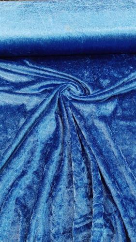 קטיפה ערבית כחול רויאל