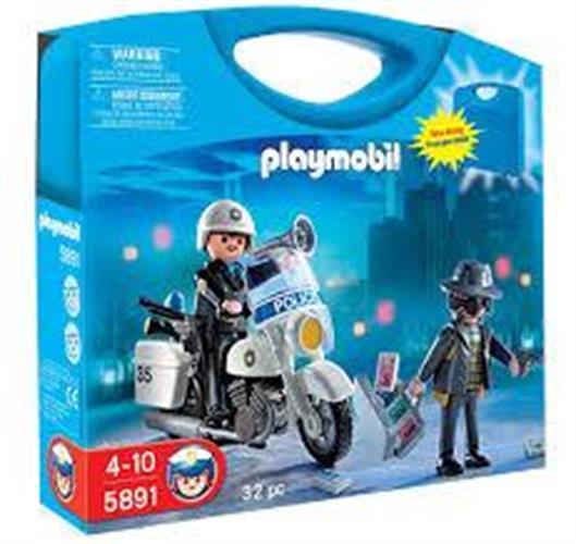 פליימוביל מזוודה משטרה 5891