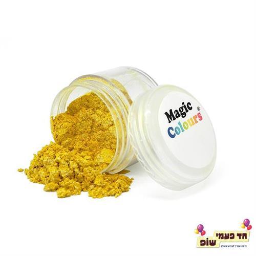 אבקת נצנצים מג'יק זהב רויאל