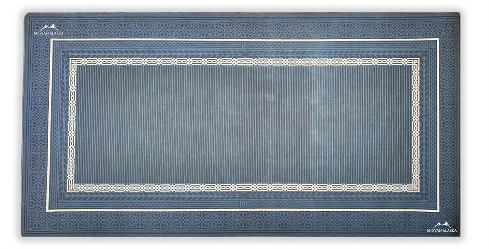 שטיח מטבח איכותי בתוספת גומי בתחתית דגם - 14 (מתנקה בקלות!)