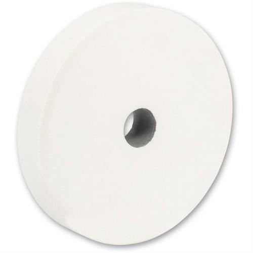 אבן השחזה לבנה 200 ממ,25ממ, גרעין 100