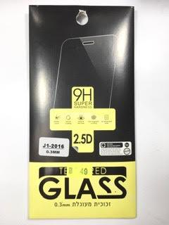 מדבקת זכוכית לסמסונג SAMSUNG J1 2016
