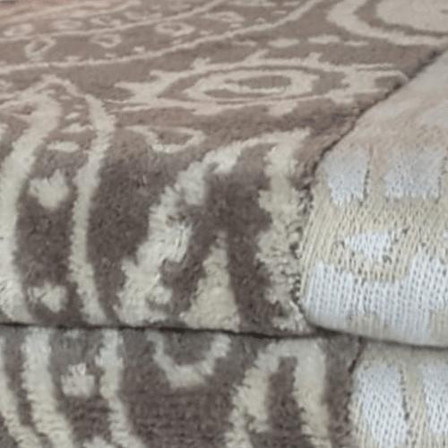 מגבת ג'קארד 100% כותנה 50/90 דגם פייזלי 1 - פריד