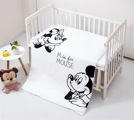 מצעים לתינוק: מיקי & מיני דגם 2 100% אל קמט בצפיפות גבוהה!