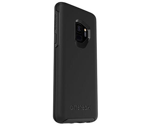 מגן איכותי- Otterbox symmetry Samsung galaxy S9  שחור במלאי