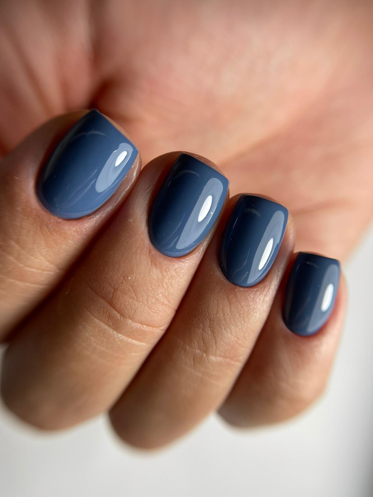 076 כחול ג'ינס - LINUX Professional Gel Polish 15 ML