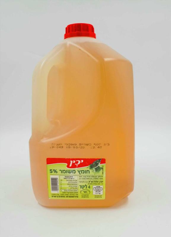יכין חומץ טבעי 4 ליטר